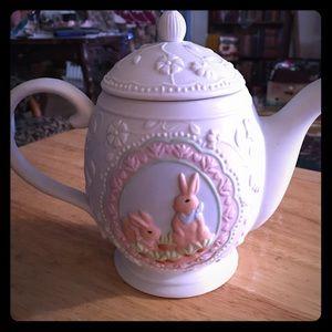 Ceramic Bunny Teapot